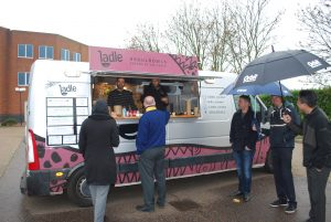 Ladle Foodtruck at Heathrow Boulevard